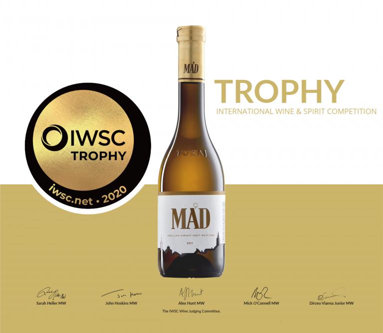 A világ legjobb édes borának választották a Mad Késői Szüretet!